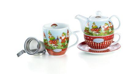 30566 tea for one set heinz porzellan 4 teilig cha cult premium quality. Black Bedroom Furniture Sets. Home Design Ideas